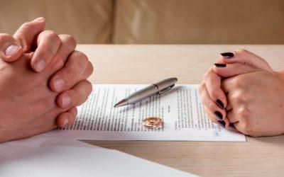 El divorcio sin hijos ni bienes